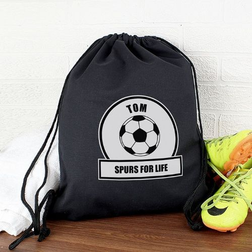 Personalised Football Fan Kit Bag